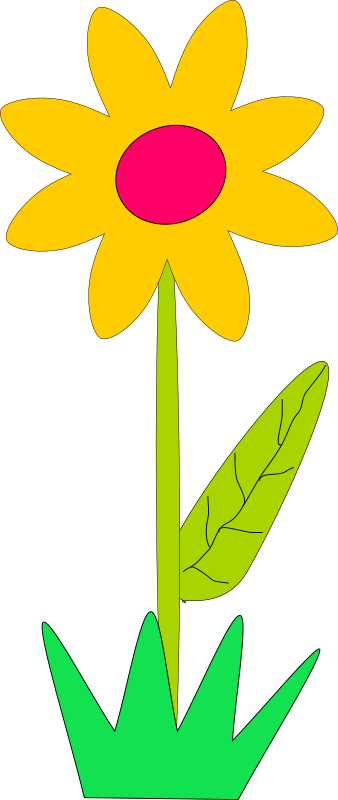flower by Machovka - A simple 2d flower.