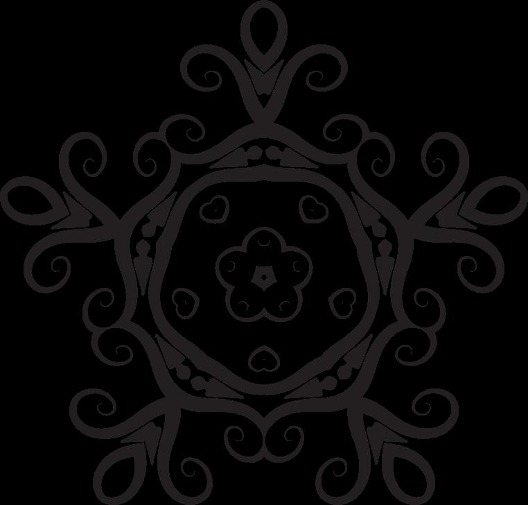 Clipart - Floral Shape 6