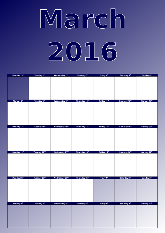 Forex holidays march 2016