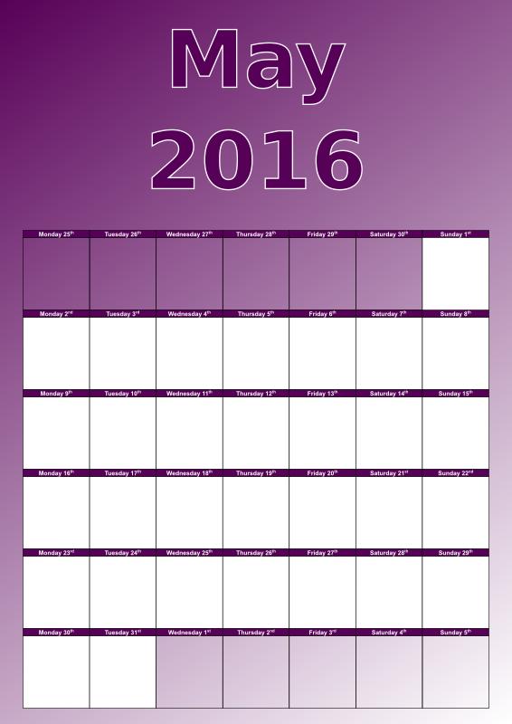 May Calendar Graphics : Clipart may calendar