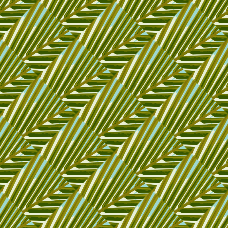 Clipart - Palm tree-seamless pattern