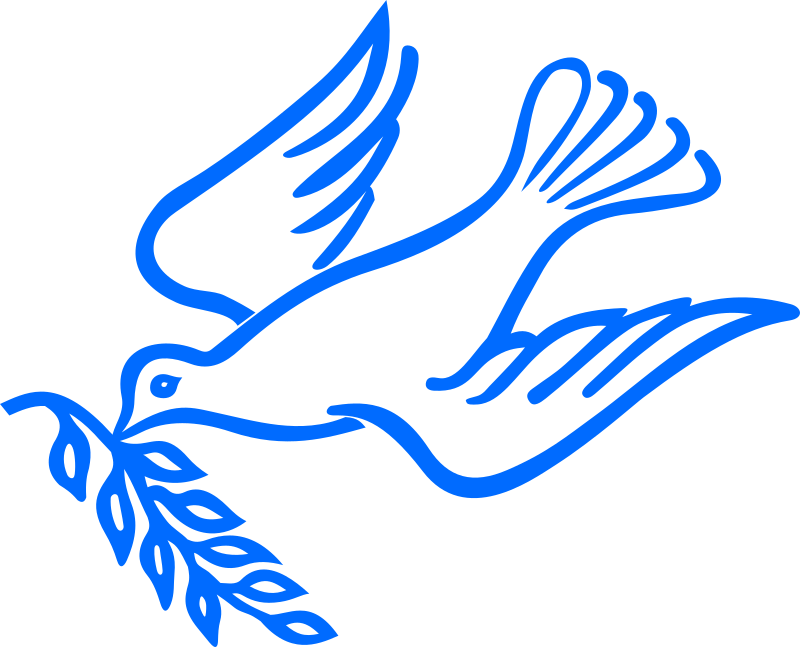 Dove bird peace sign - photo#24