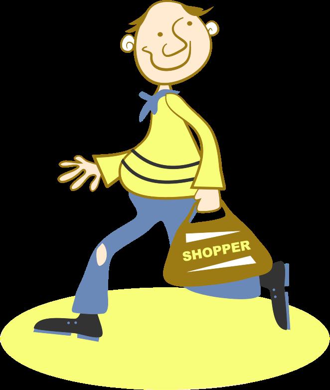 clipart happy shopper clip art microsoft word clip art microsoft office