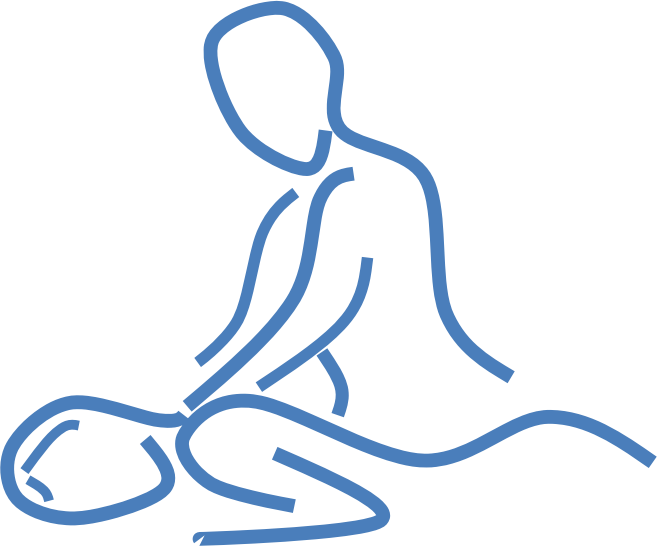 Line Art Design Png : Clipart massage line art