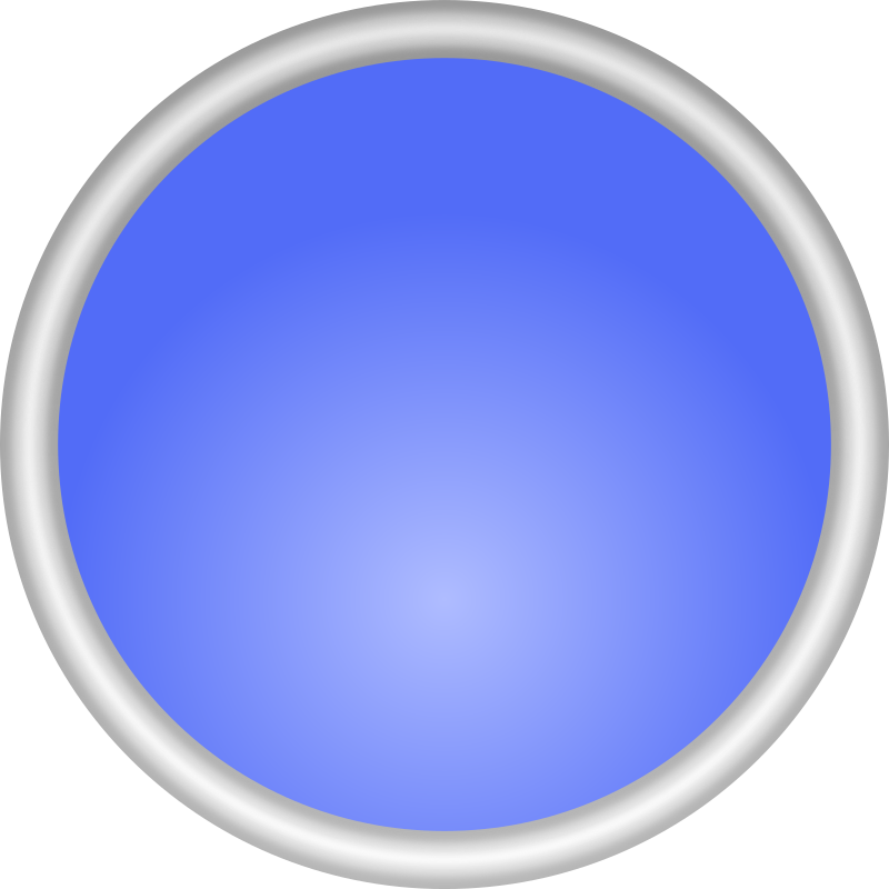 Shiny Blue Circle by adam_lowe - A shiny, blue circle with a silvery border.  Might be good for being part of a logo.