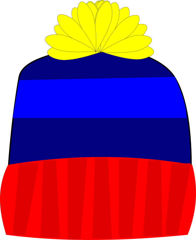 Knitting Clipart Png : Clipart knit hat
