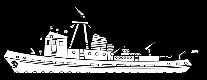 Clipart Fireboat