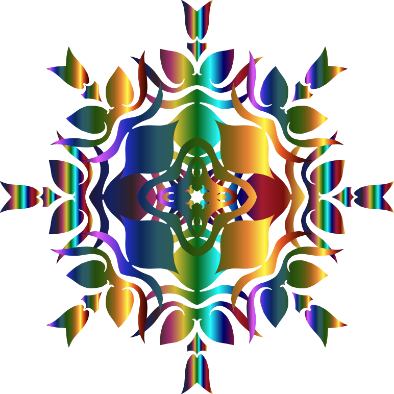 Clipart - Abstract Geometric Design