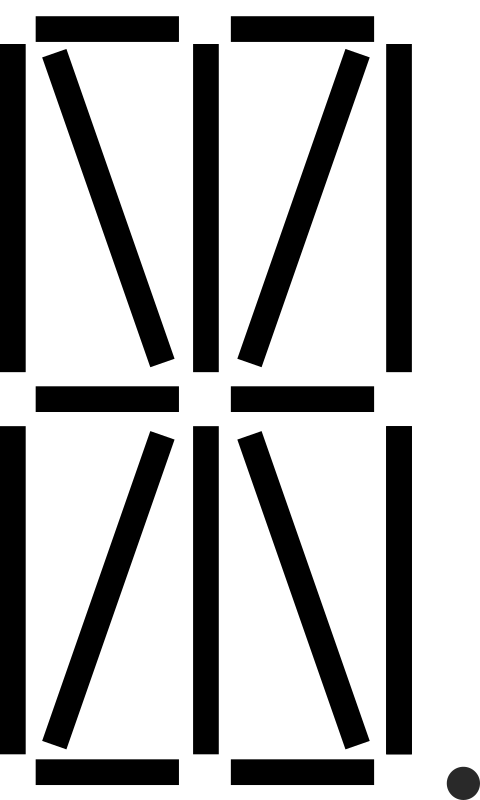 Clipart Sixteen Segment Display