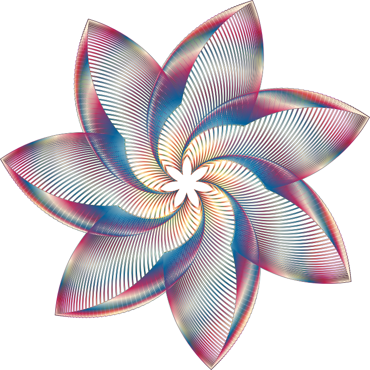 Clipart - Prismatic Flower Line Art 3 No Background No Sign With No ... X Men Days Of Future Past Bishop