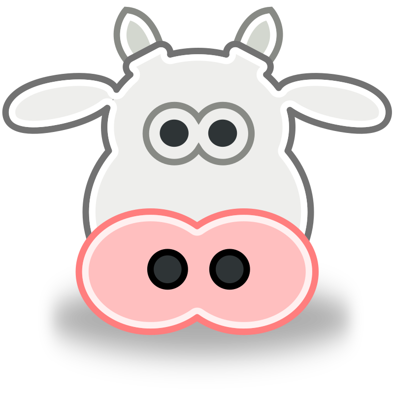 Tango Style Cow Head by rugby471 - A Tango Style Cow Head