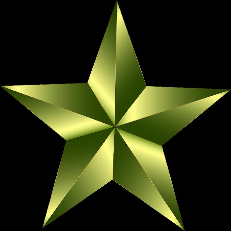 Clipart - Prismatic Star 21