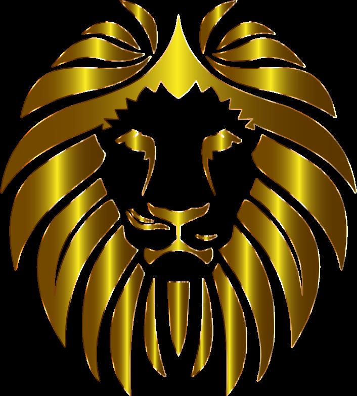Clipart - Prismatic Lion 10 No Background