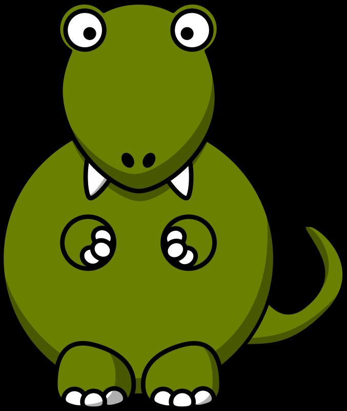 Cartoon tyrannosaurus rex by StudioFibonacci - Cartoon ...