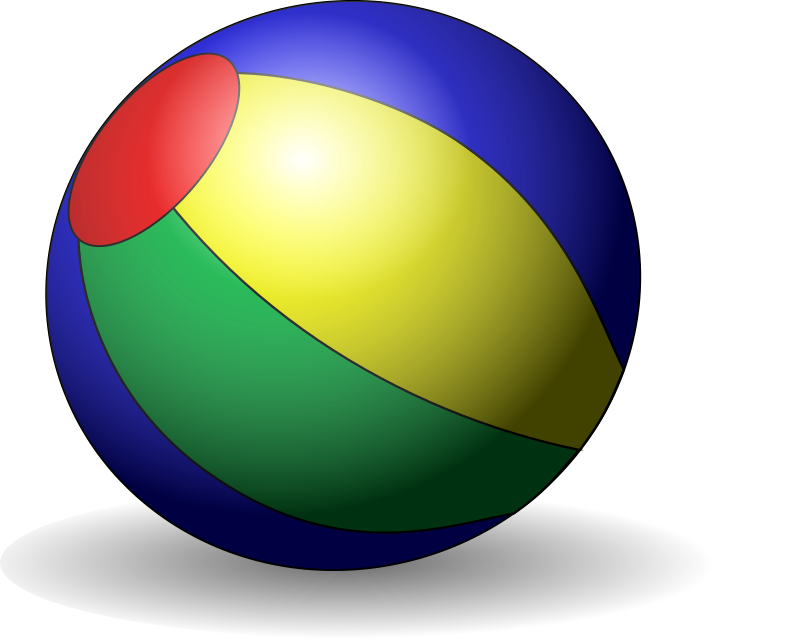 Beachball by Anonymous
