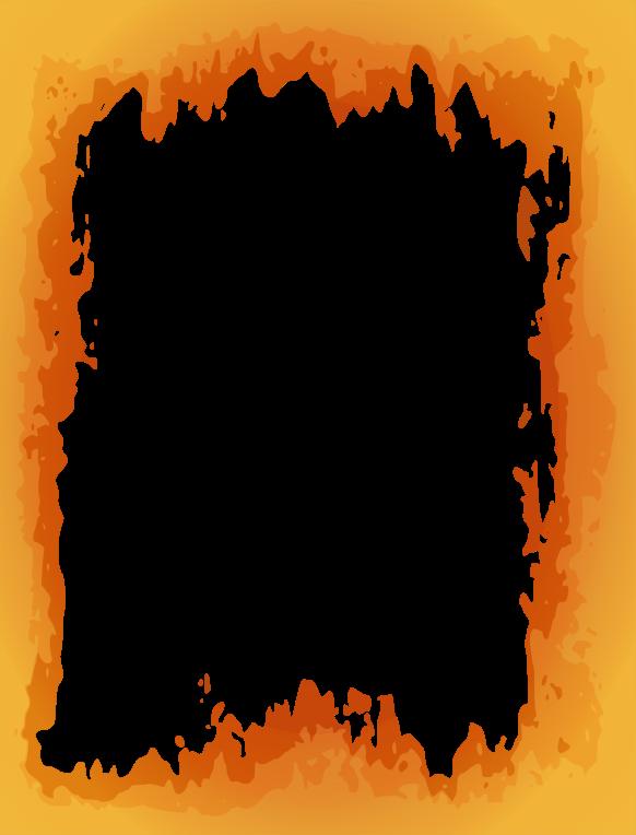 Clipart - Fire Border