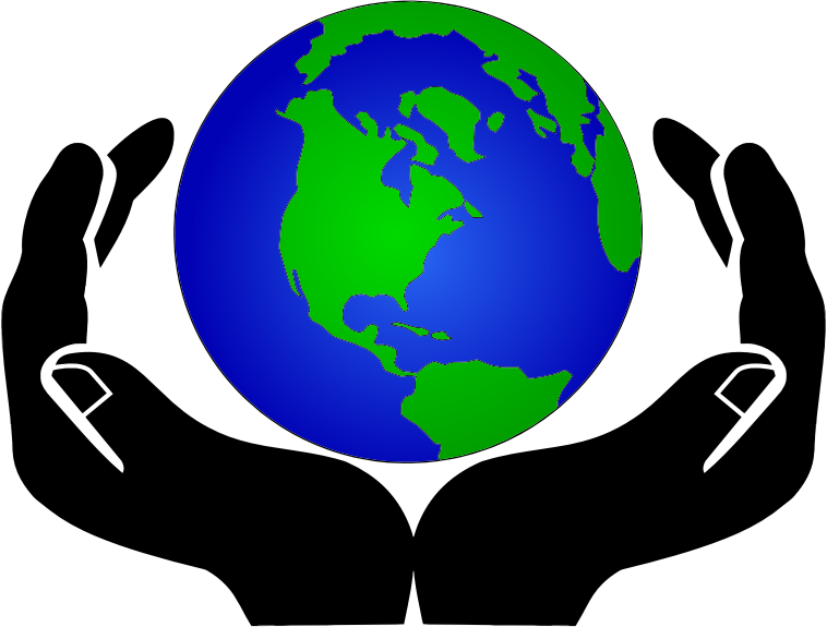 clipart world in hands rh openclipart org clipart of peace around the world free clipart of the world