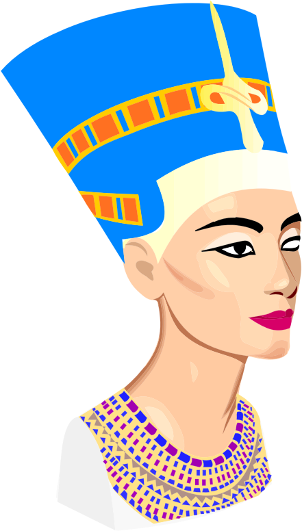 Clipart - Nefertiti Portrait