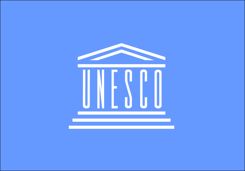 Flag of the Unesco by Anonymous
