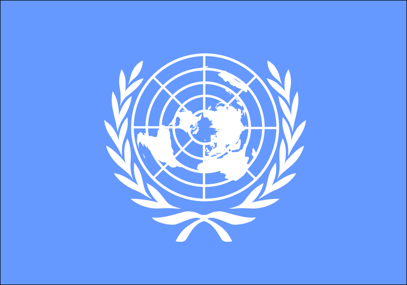 Flag of the United Nations by Anonymous