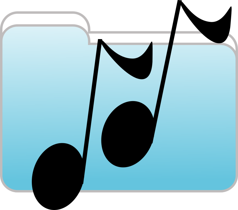 Music Folder Icon by Anonymous - A Music Folder icon by Al Arthur