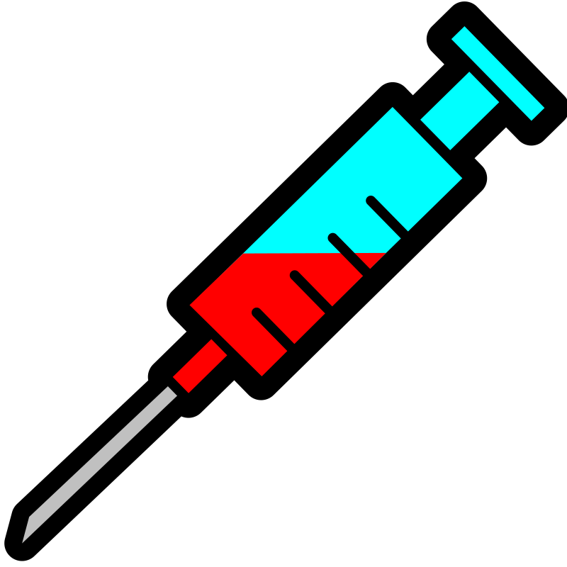 Syringe icon by pitr