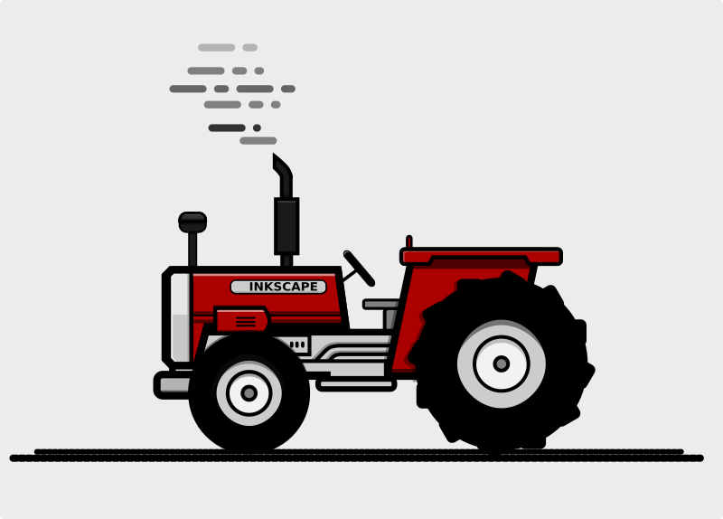 Simple Tractor Clip Art : Clipart tractor