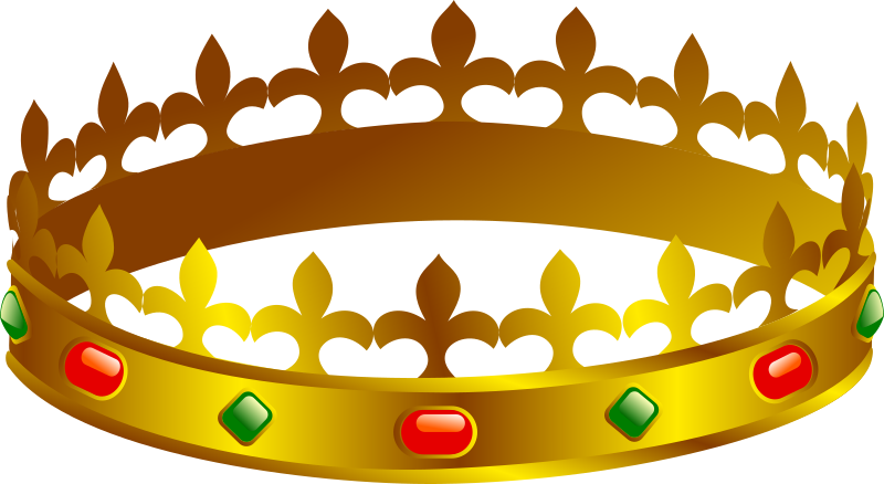 "Crown by Anonymous - King's crown (originally named ""couronne"") by Franck Doucet. From old OCAL website."