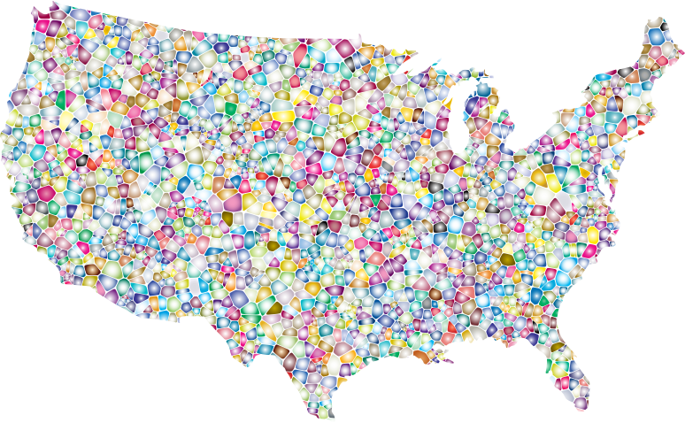clipart of united states map - photo #37