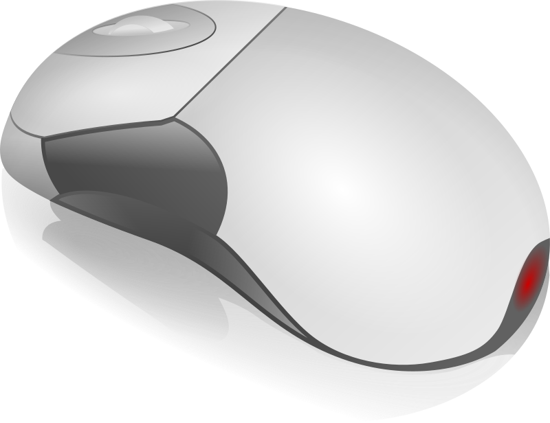 mouse by Anonymous - A computer mouse.