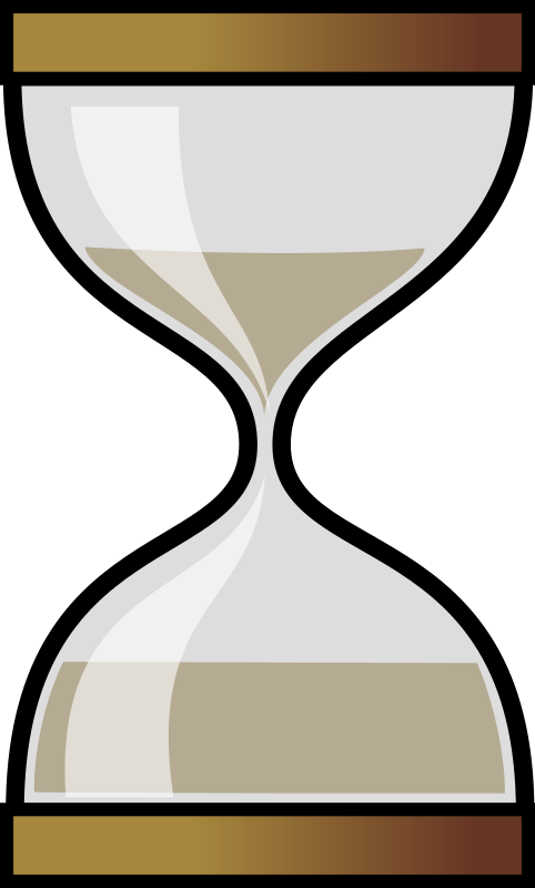 Sandglass by Anonymous - Hourglass icon by Frédéric Moser. From old OCAL website.