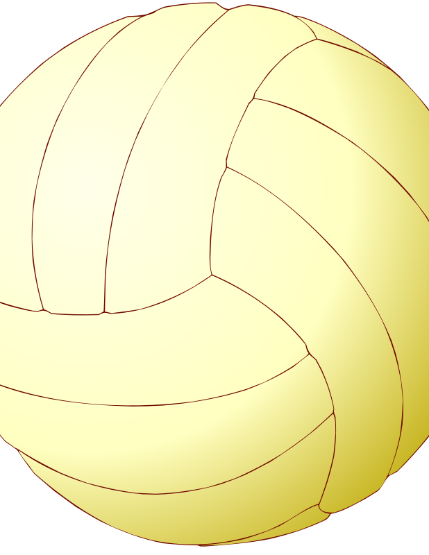 Volleyball by Anonymous - A yellow volleyball by Andrea Bianchini