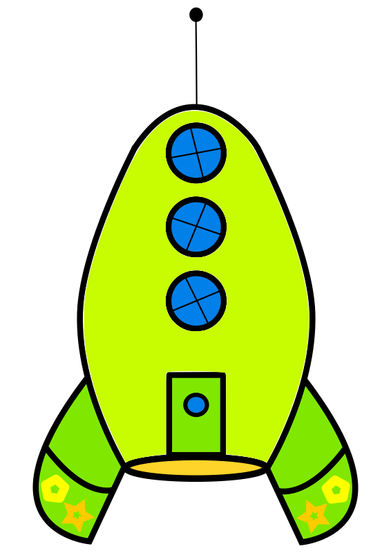 clipart green rocket. Black Bedroom Furniture Sets. Home Design Ideas