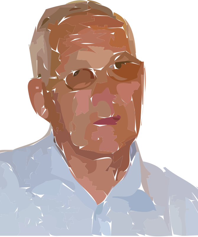 grandpa by Anonymous - A vectorized grandpa image.