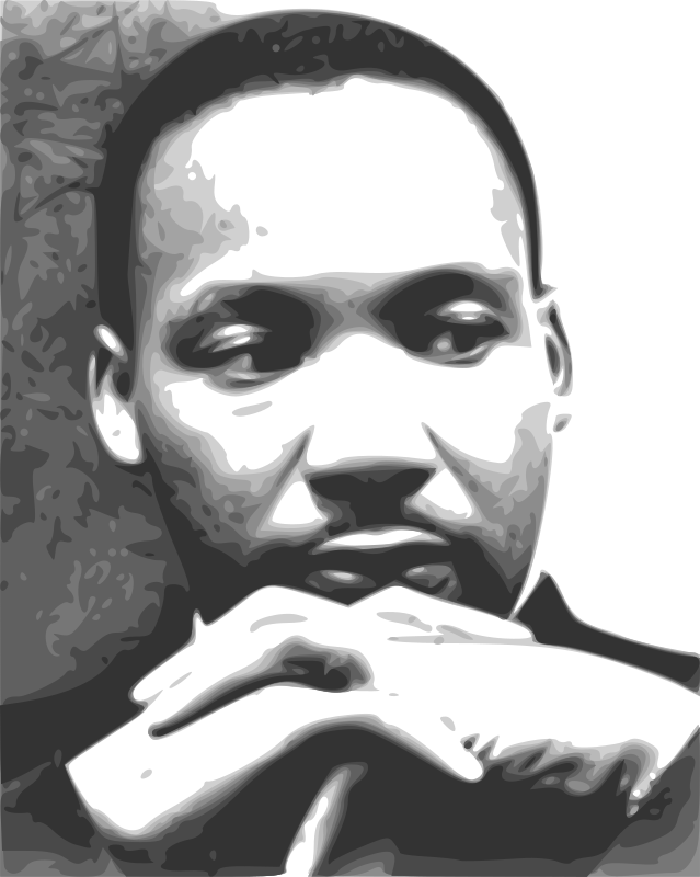 Martin Luther King Jr 03 by Anonymous