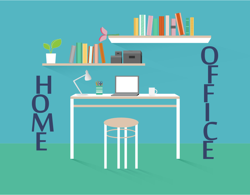 Clipart - Home Office