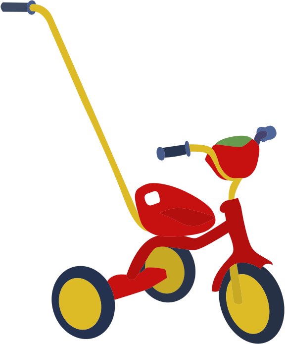 Clipart Red Tricycle