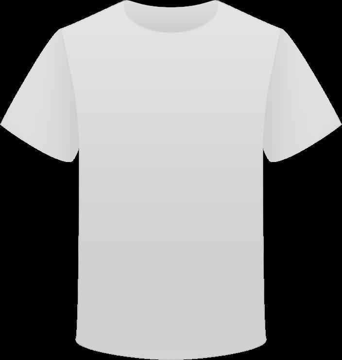 Clipart - Gray T Shirt