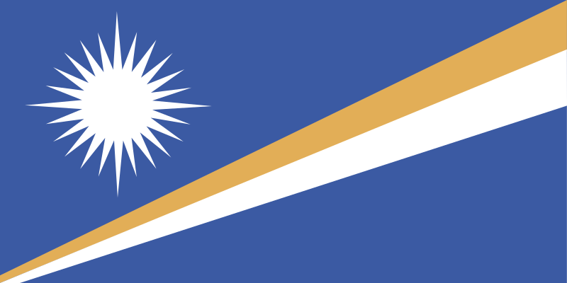 Flag of the Marshall Islands by andrewduhan