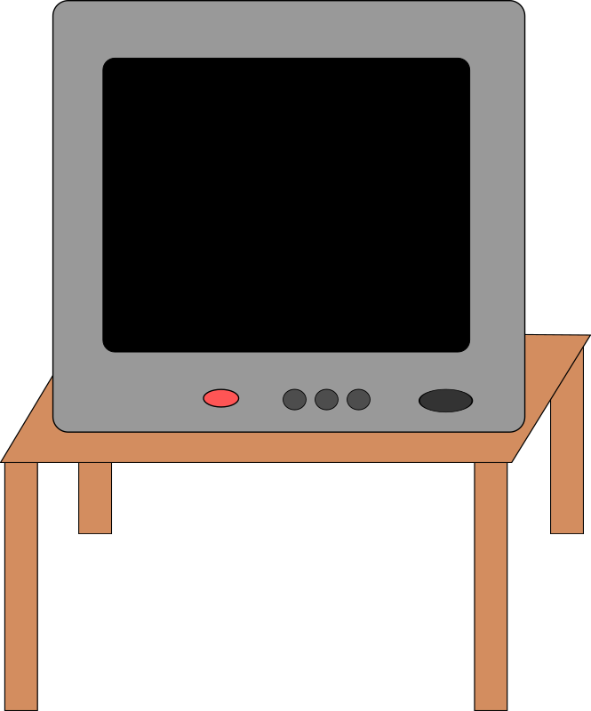 Clipart Tv Set 1