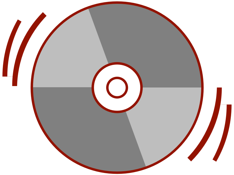 Stylized CD by Anonymous - Stylized CD icon by Jakob. From old OCAL site.