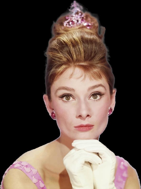 Clipart - Audrey Hepburn Portrait
