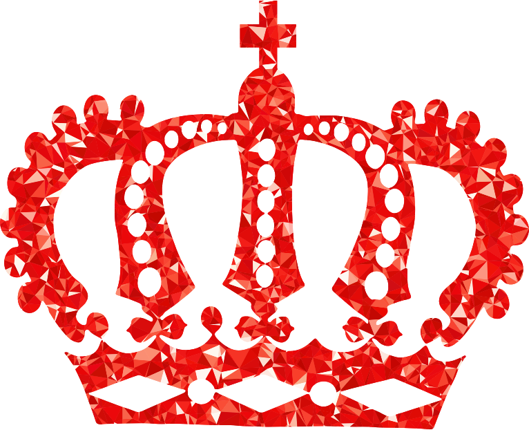 red crown clipart - photo #28