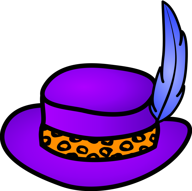 Pimp hat by Anonymous