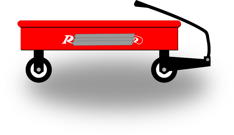Clipart Little Red Wagon