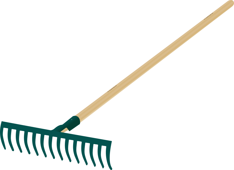 Clipart - Rake tool