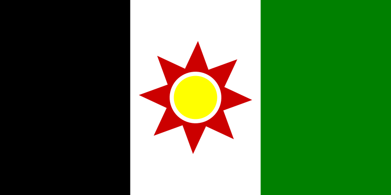 Flag of Iraq 1959-1963 by Anonymous