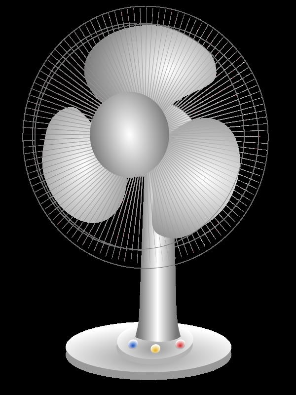 Electrical Table Fan : Clipart electric table fan