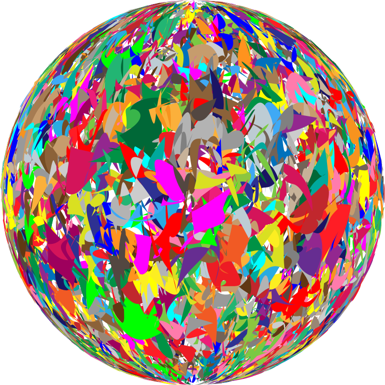 Clipart Modern Art Sphere