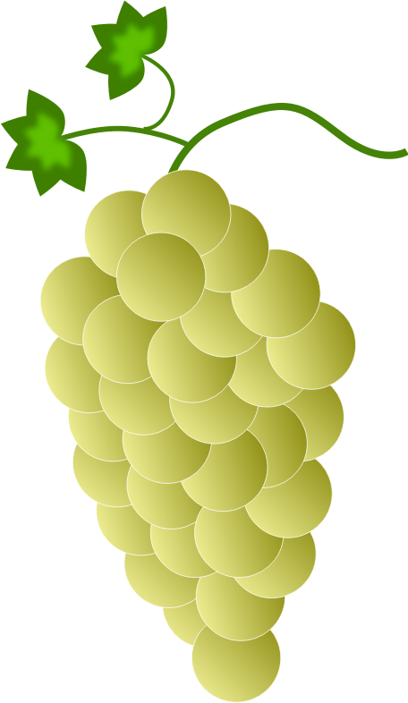 Clipart Yellow Grapes